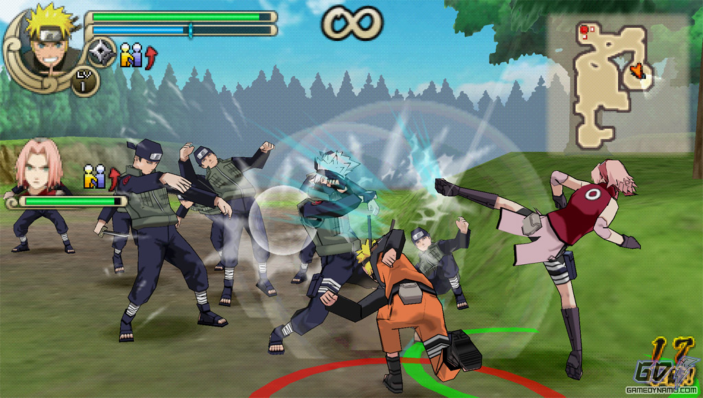 download game naruto ninja impact 4 ppsspp