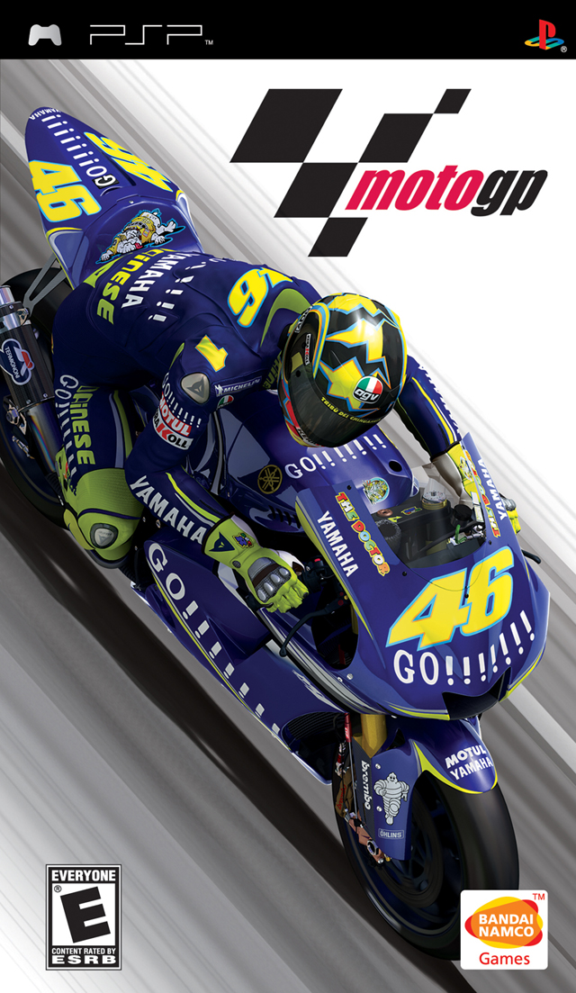 PSP - Moto GP + Savedata Game